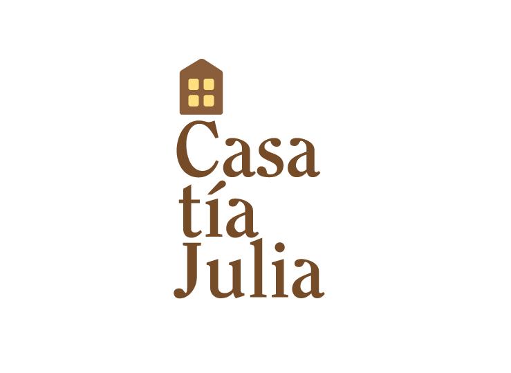 Logotipo para Casa tía Julia