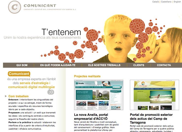 Web de Comunicant